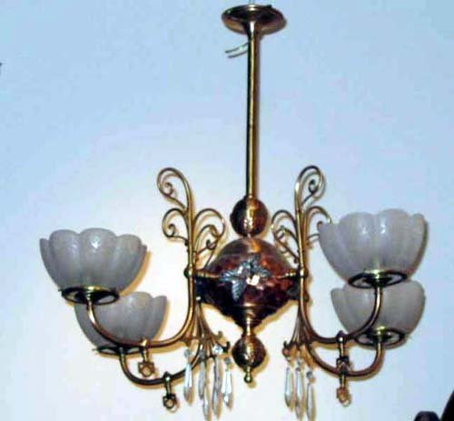 Parker Aesthetic Gas Chandelier. SOLD
