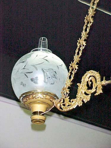 Rare Astral or Solar Chandelier - 257