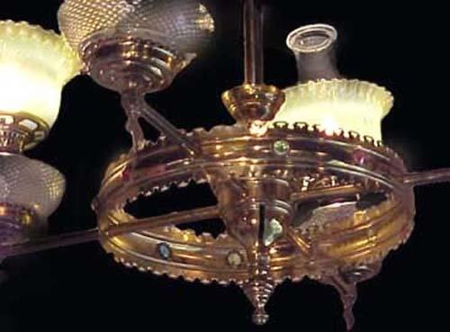 Kerosene Chandelier - 133