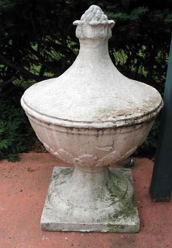 Stone Garden Finials, 38