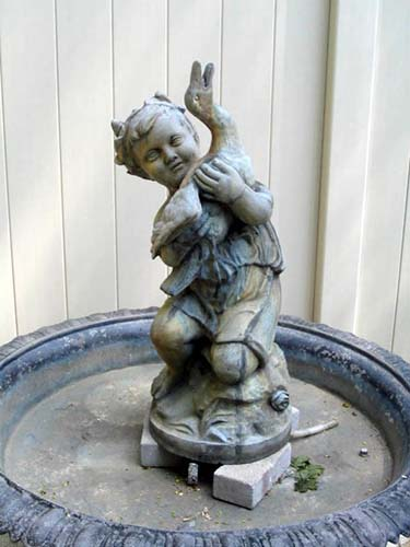 Mott Victorian Zinc Fountain:SOLD
