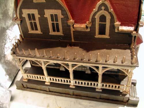 Victorian Cast Iron Bird HouseSOLD
