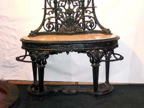 Hall Stand:Cast Iron Coalbrookdale SOLD