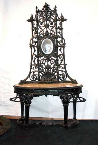 Hall Stand, Antique Coalbrookdale Sold