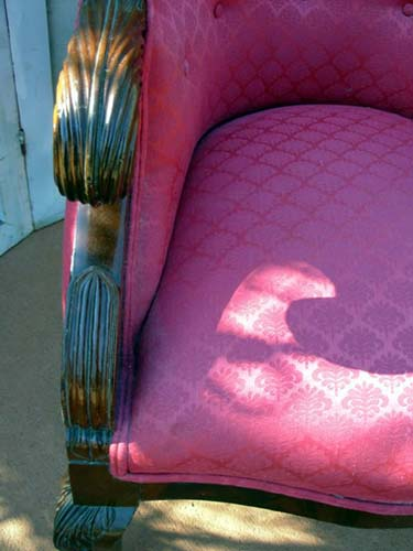 Am. Classical Phyfe Armchair: SOLD