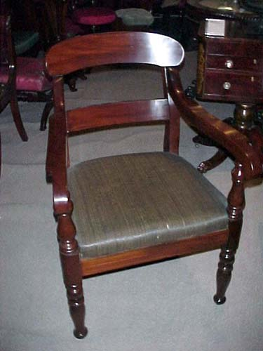 Classical Mahogany Armchair SOLD: