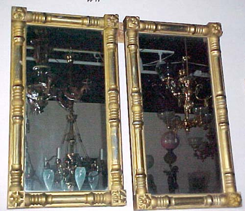 Pr of Am. Gilt Classical Mirrors:SOLD