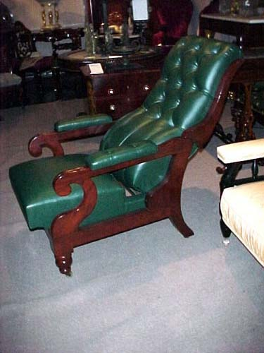 Chair:Classical Reclining Chair: