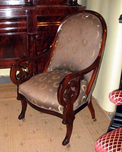 Classical Gondola Armchair SOLD