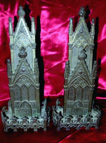 Gothic Revival Card Holders, Pair  SOLD