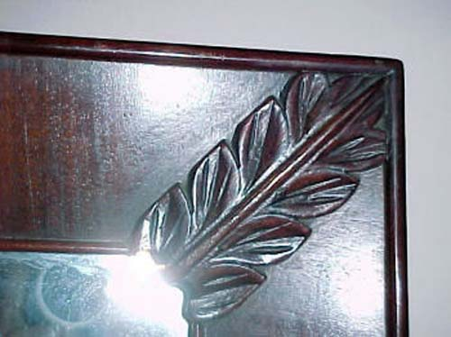 19thC American Classical Ogee Mirror Sold: