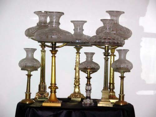 Antique Sinumbra Lamps: