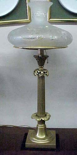 Gilt Bronze Sinumbra Lamp: SOLD