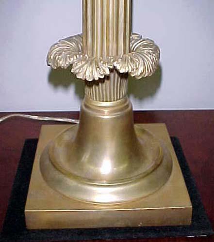 Gilt Bronze Sinumbra Lamp: SOLD