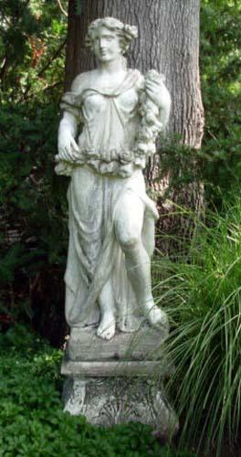 Garden Statue of Spring-SOLD