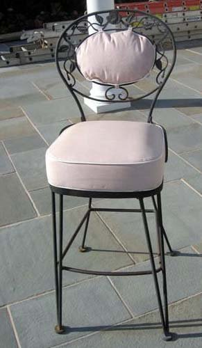 Vintage Woodard Chantilly Rose Bar Stools SOLD