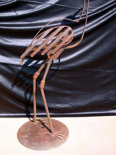 Statue:Wrought Iron  by Cumpston SOLD