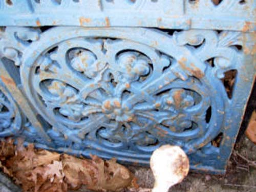 Gothic Revival Cast Iron Panels-Pr SOLD