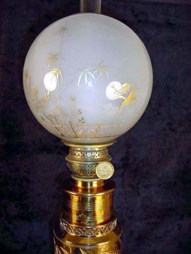Parker Aesthetic Brass Lamp-Sold