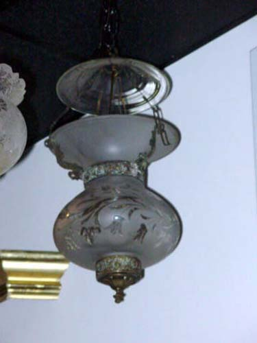 Chandelier, Classical Candle Hall Lantern SOLD
