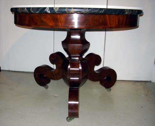 Table: Meeks Am. Classical Center Table