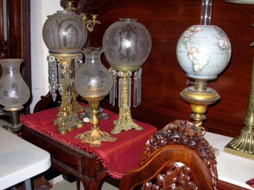 Astral & Argand Lamps