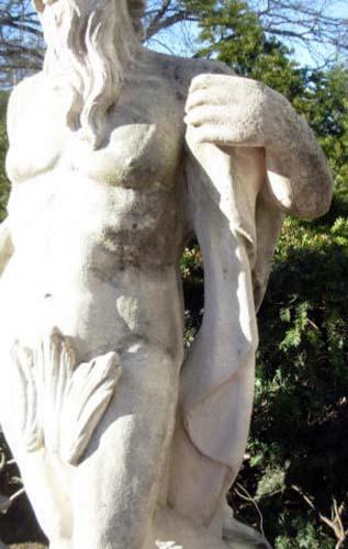 Garden Statue of Neptune- SOLD