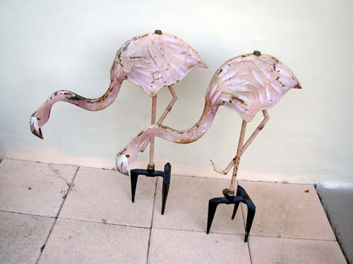 Garden Sprinklers: Flamingos SOLD