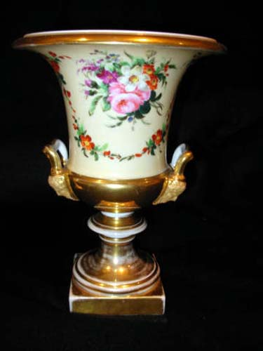 Old Paris Campana Urns SOLD
