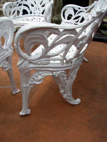 Cast Iron Lily of the Valley Set  SOLD