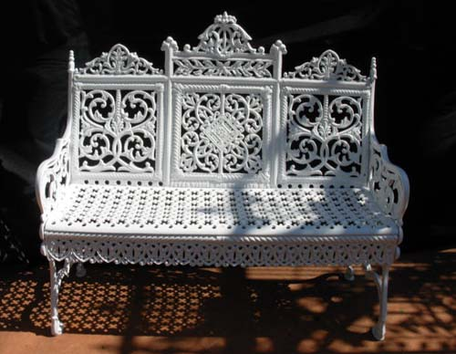 Timmes Cast Iron Garden Set SOLD