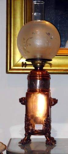Aesthetic Gorham Copper Lamp SOLD