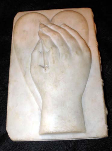 Marble Bible--SOLD