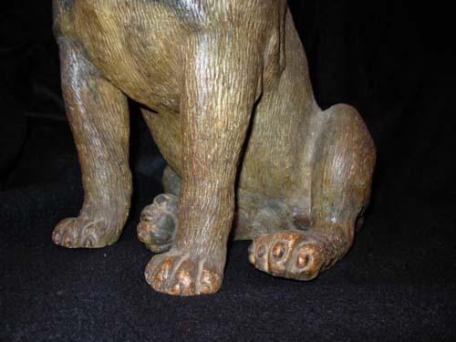 Dog:Terra Cotta Pug Dog