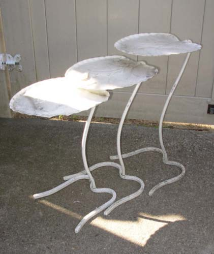 Salterini  Nest of Leaf Tables SOLD
