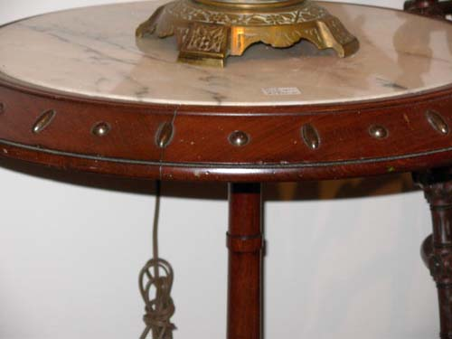 Table: Hunzinger Victorian  Walnut Table