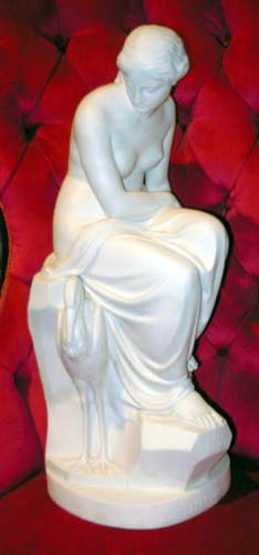 Parian; Minton Parian figure Solitude