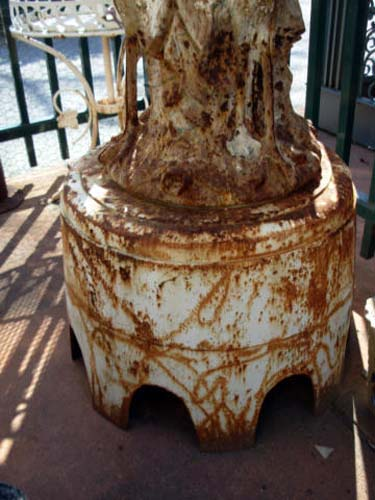 Fiske Cast Iron Garden Fountain Sold Joan Bogart