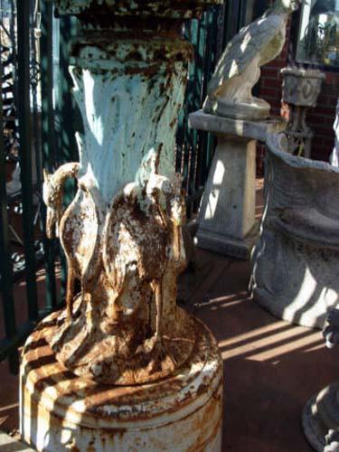 Fiske Cast Iron Garden Fountain SOLD