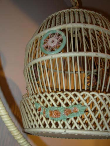 Bird Cage: Antique Wicker