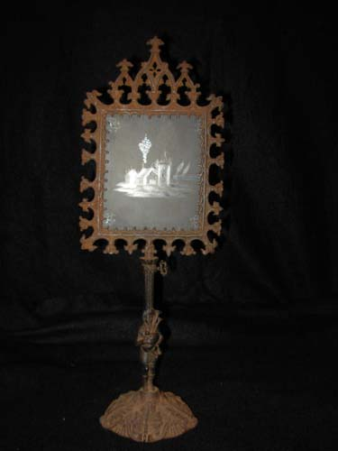 Gothic Revival Candle Screen