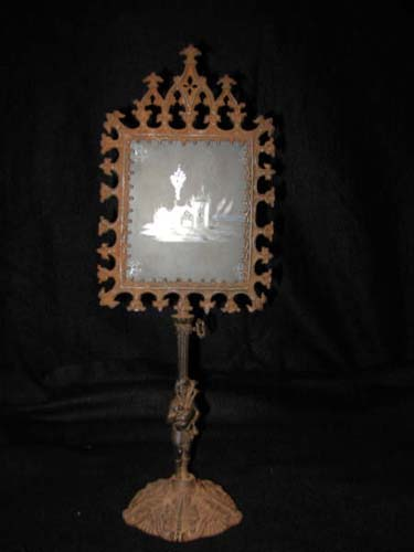 Gothic Metal Candle Screen