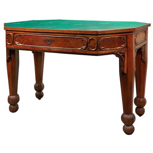 Gothic Revival Writing Table SOLD