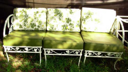 Salterini Patio Set, Banana Leaf SOLD