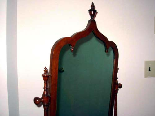 Mirror, Gothic Revival by Roux
