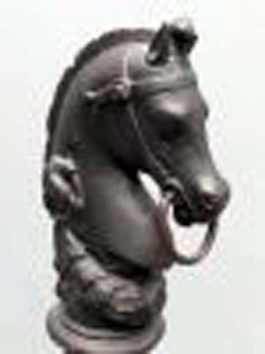 Hitching Post, Horsehead, SOLD