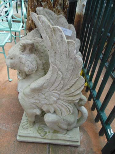 Griffin, Cast Stone. SOLD