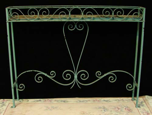 Planter, Vintage Wrought Iron Planter.    SOLD
