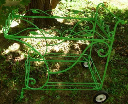 Vintage Salterini tea or bar cart