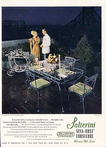 Dining Set Salterini Mt Vernon SOLD